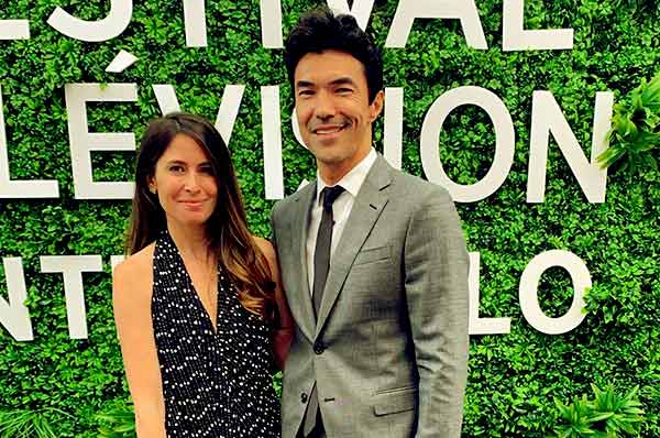 Image of Caption: Nicole and Ian attended Festival Television Monte Carlo in June 2019