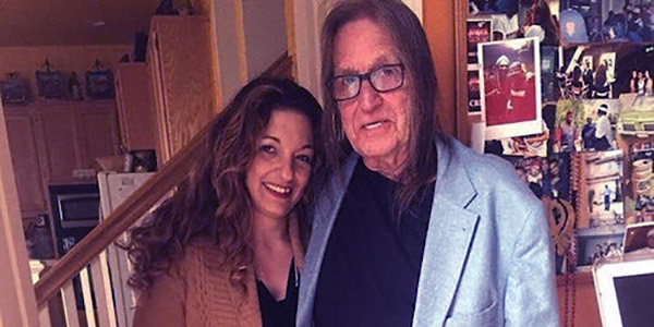 Image of Caption: George Jung and his daughter, Kristina Sunshine Jung