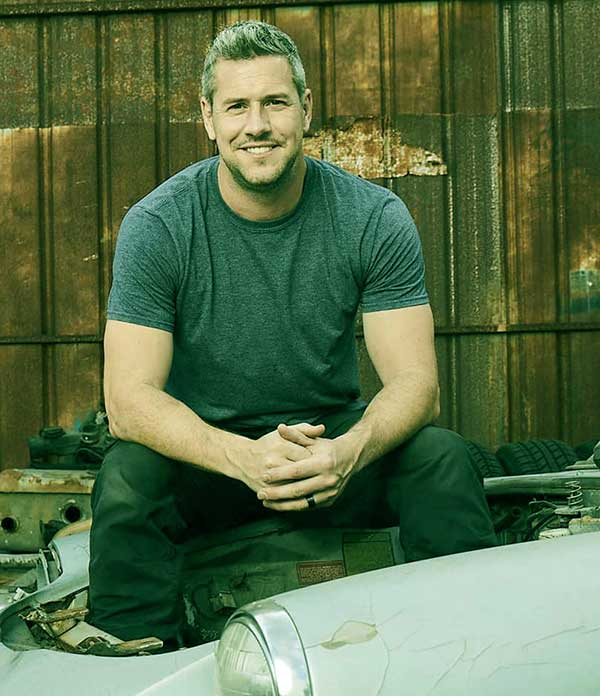 Image of Caption: British TV presenter Ant Anstead