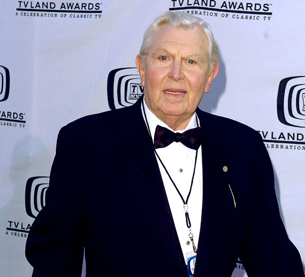 Image of Caption: Actor, Andy Griffith died due to heart attack