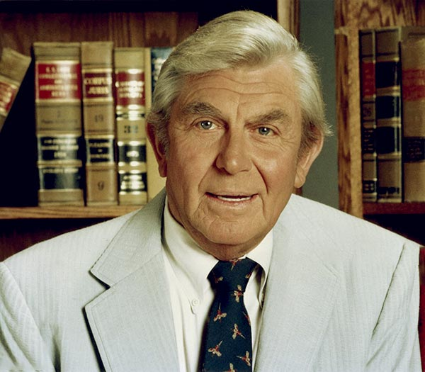 Image of Caption: Actor, Andy Griffith