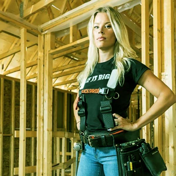 Image of Caption: Contractor, Sherry Holmes