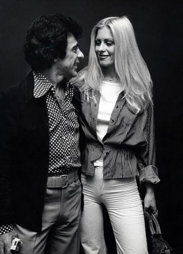 Frankie Valli and Mary Mandel