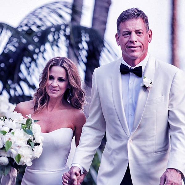 Image of Caption: Catherine Mooty became Mrs. Aikma after marrying former NFL quarterback, Troy Aikman
