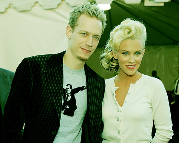 Image of Caption: Evan's parents' Jenny McCarthy and John Asher were married from 1999 to 2005