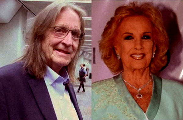 Image of Caption: Mirtha and George were married from 1977 to 1984