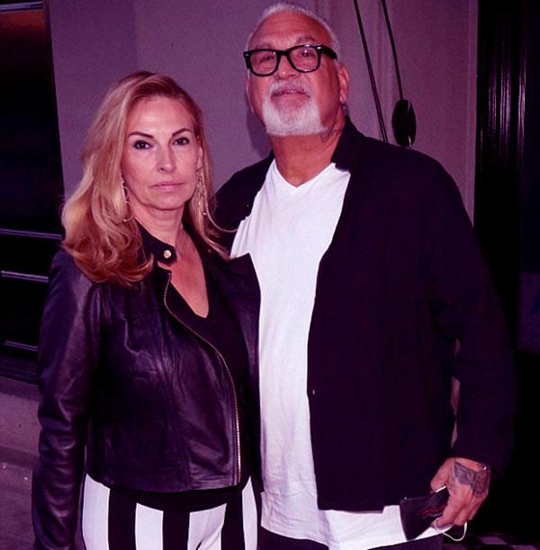 Image of Caption: Evanka Franjko and her husband, Joey Buttafuoco
