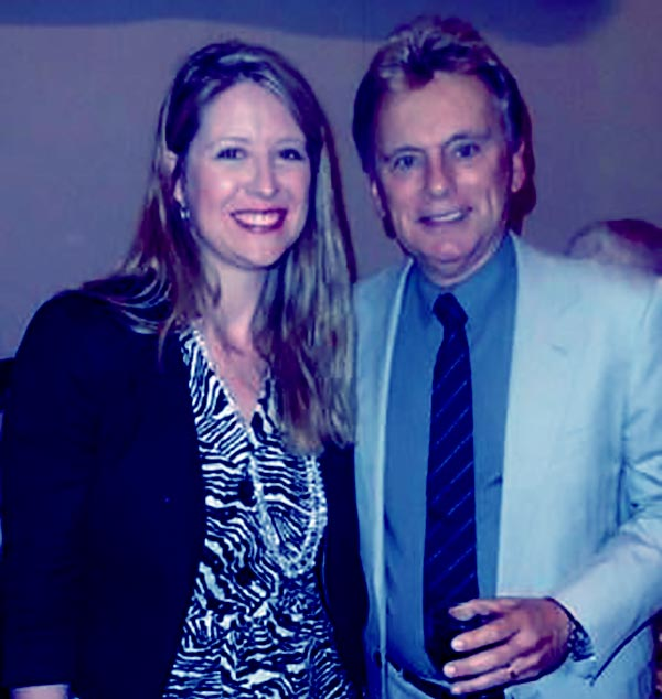 Image of Caption: Sherrill Sajak was married to Pat Sajak from 1979 to 1986