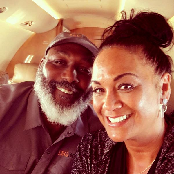 Image of Caption: Kay Kinsey and Karl Malone went on a vacation to spend some quality with each other in Louisiana in October 2019