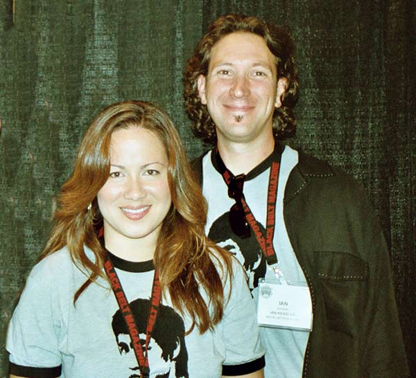 Image of Caption: Anthony Ian Keasler with his wife Shannon Lee