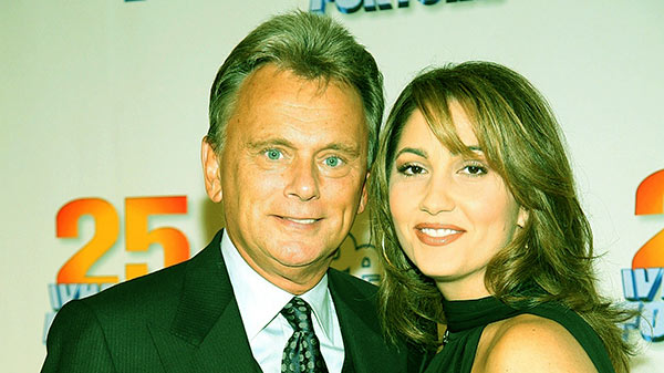 Image of Caption: Sherrill's ex-husband, Pat Sajak has been married to current wife, Lesly Brown since 1989