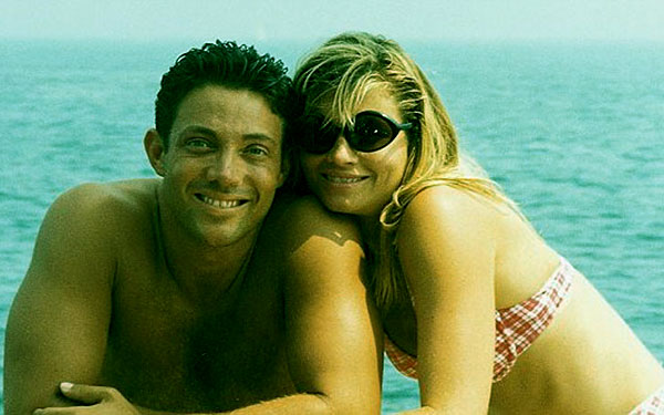Image of Caption: Nadine and Jordon were married from 1991 to 2005