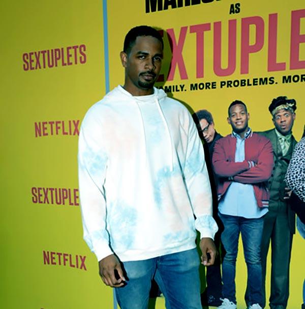 Image of Caption: Damon Wayans Jr in Netflix World Premiere of 'Sextuplets' in August 2019