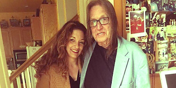 Image of Caption: Mirtha and George Jung only child, Kristina Jung