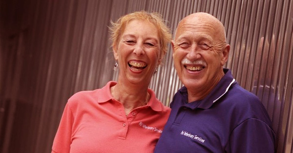 Image of Caption: Dr. Jan Pol and Diane Pol both practice together in Pol Veterinary Services