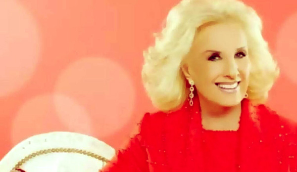 Image of Caption: Mirtha is sober since 1981