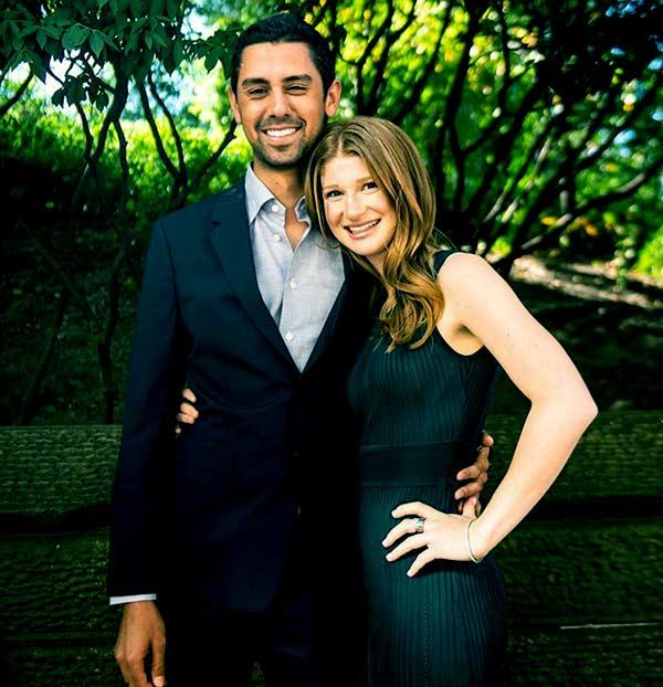 Image of Caption: Jennifer engaged to her boyfriend, Nayel Nassar in January 2020