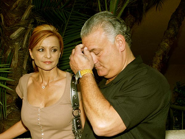 Image of Caption: Evanka and her husband, Joey