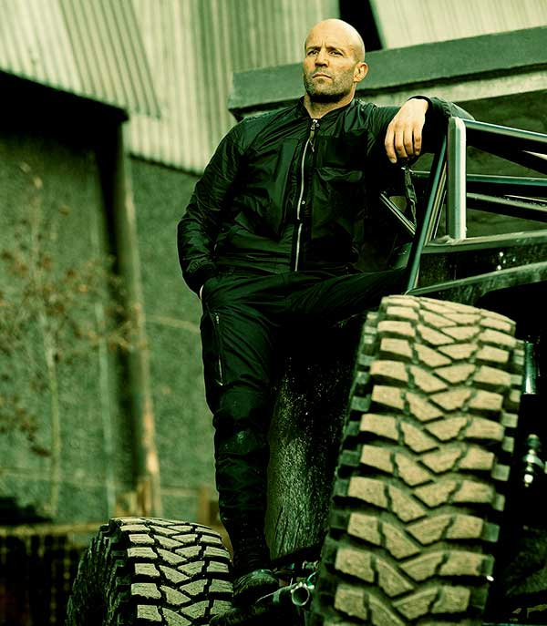 Image of Caption: Jason Statham played the lead role as Deckard Shaw in the movie Hobbs & Shaw in 2019