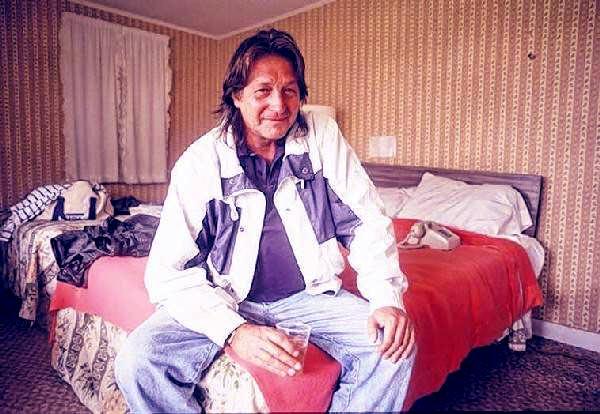Image of Caption: Former drug lord George Jung
