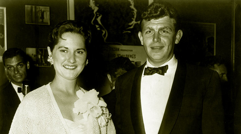 Image of Andy Griffith Ex Wives: Barbara Griffith and Solica Casuto Biography, Facts
