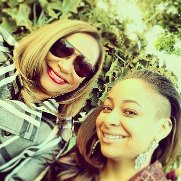 Image of Caption: Lydia and daughter, Raven Symone's day out