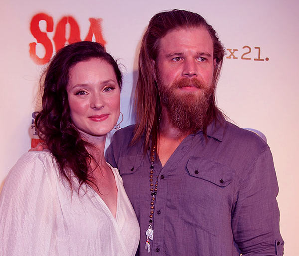 Image of Caption: Molly Cookson got married to The Walking Dead actor Pyan Hurst in 2005