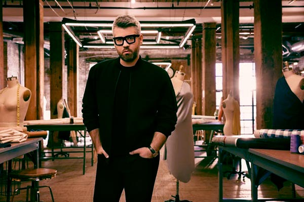 Image of Caption: Fashion Designer Brandon Maxwell is a judge of Bravo's Project Runway