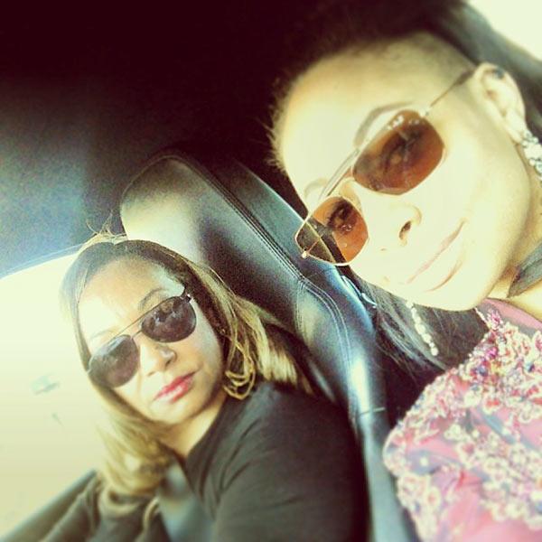 Image of Caption: Lydia Gaulden and Raven Symone