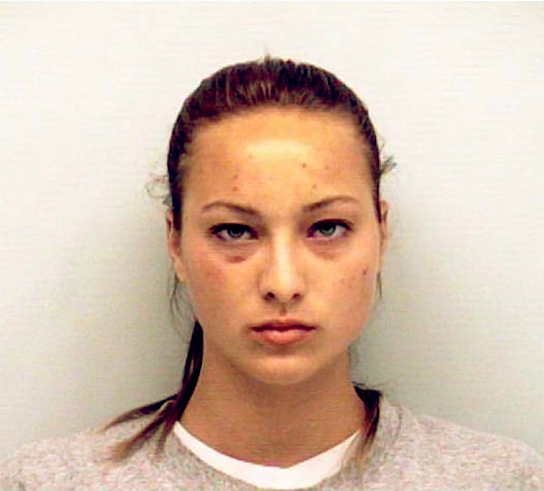Image of Caption: Kayla Quick was arrested for disorderly conduct and grand theft