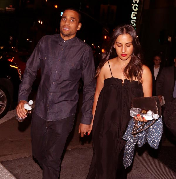 Image of Caption: Micael Ealy and his wife, Khatira Rafiqzada