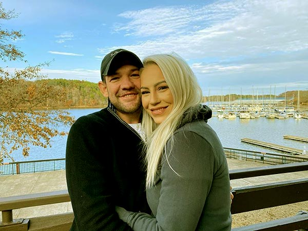 Image of Caption: Leland Chapman and Jamie Pilar walked down the aisle in 2016