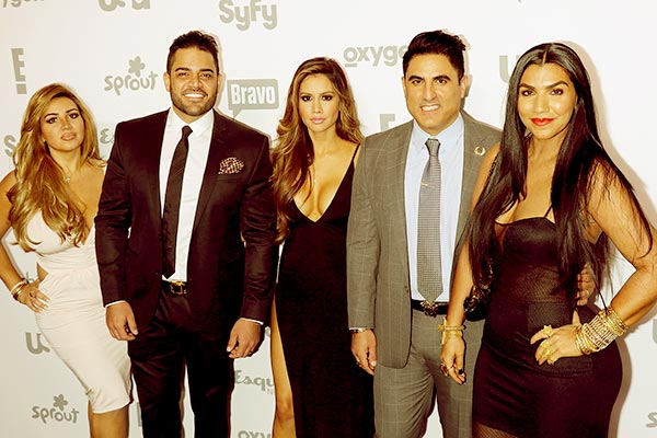 Image of Caption: Asa and her group from Shahs of Sunset