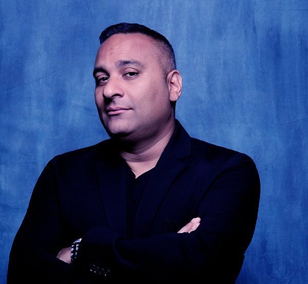 Image of Caption: Comedian, Russell Peters