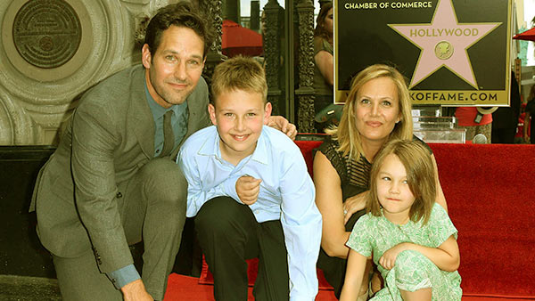 Image of Caption: Jack and his family attended the Hollywood Hall of Fame in 2015