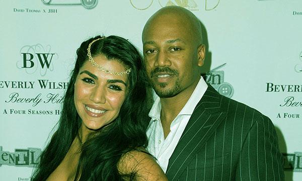 Image of Caption: Asa and her boyfriend, Jermaine Jackson