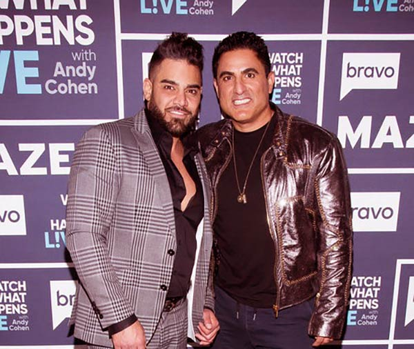 Image of Caption: Shervin Rooharvar and Reza Farahan