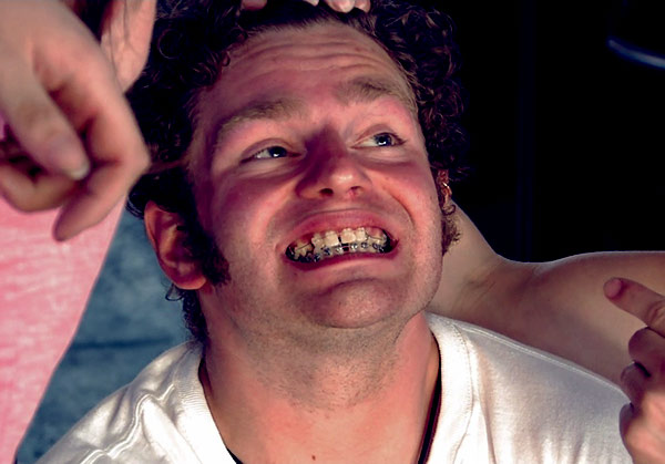 Image of Caption: Gabe Brown braces looking appealing to those taken by his special personality.