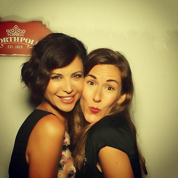 Image of Brooke Daniells with her partner Catherine Bell