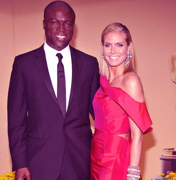 Image of Heidi and Seal were married for seven years