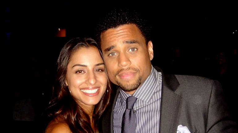 Image of Everything about Michael Ealy's wife Khatira Rafiqzada