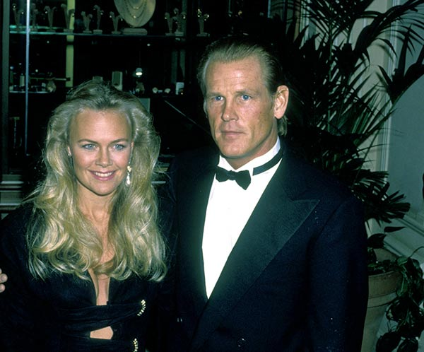 Image of Caption: Nick Nolte and Wife Rebecca Linger