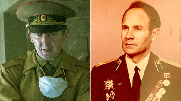 Image of Ralph Ineson played the role of General Nikolai Taraknov in HBO's Chernobyl