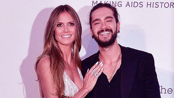 Image of The supermodel got married for the third time with Tom Kaulitz in 2019