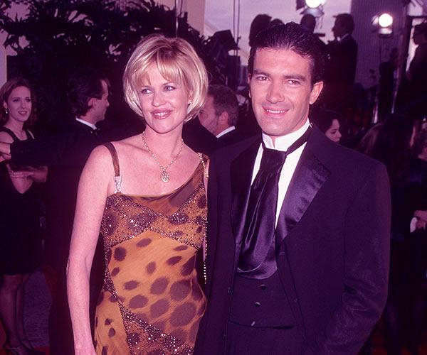Image of Caption: Antonio Banderas with Melanie Griffith
