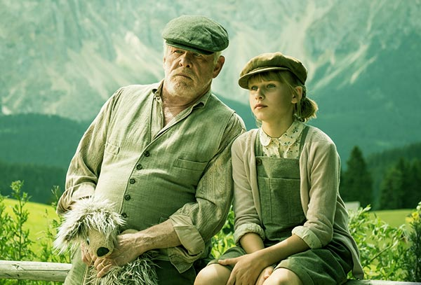 Image of Caption: Sophie Lane Nolte and Nick Nolte co-starred in the movie, Head Full of Honey
