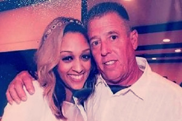 Image of Caption: Darlene with her ex-husband Timothy