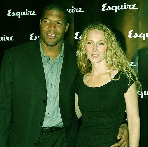 Image of Caption: Kayla boyfriend Michael with his wife Jean Muggli