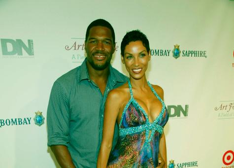 Image of Caption: Kayla boyfriend Michael first wife Wand Hutchins