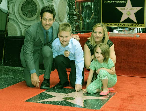 Image of Darby and her family attended the Hollywood Hall of Fame in 2015